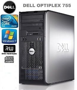 Dell Dual Core desktop 4.0 GB Ram 320 GB HDD Windows 7