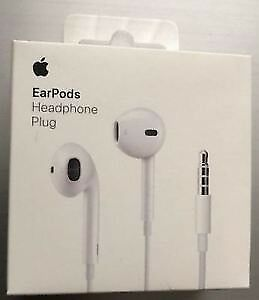 Apple earbuds new in box