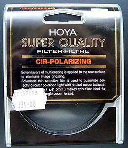 Filtr HOYA Super Quality Cir-polarizing 58 mm