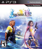 final fantasy x and x-2 hd remastered ps3 new and sealed