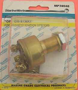 Sierra MP39040 All Brass Ignition Switch 4463