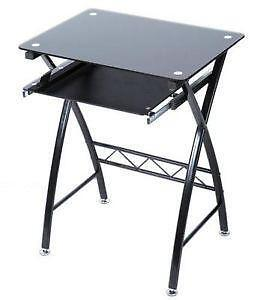 9d6b38103069 Black Glass Desk