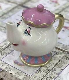 Mrs Potts & both Chip mugs set (Primark, Beauty and the Beast)