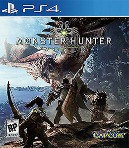 Monster Hunter World PS4 Brand new factory sealed! (Playstation)