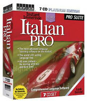 Instant Immersion Italian Pro 7 CD Platinum