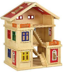 Holz puppenhaus bausatz