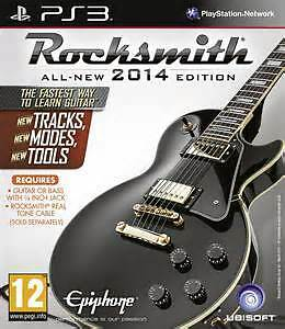 Learn Guitar with Rocksmith 2014 for PS3