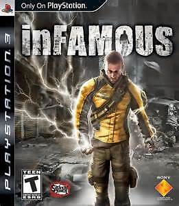 infamous 1 and 2 for PS3 Console