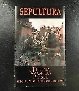Sepultura - Third World Posse on cassette