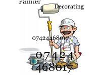 Painter decorating 07424460817