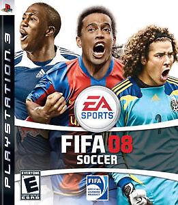 ps3 fifa 08 comme neuf soccer