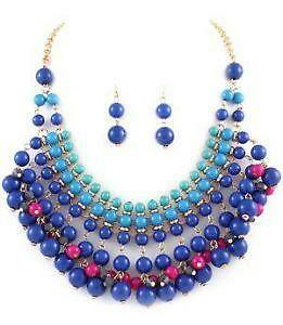 Necklace And Earring Lot Sets