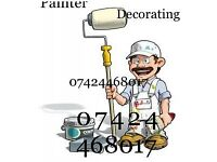 Painter decorating