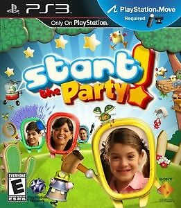 "PS3 kids game "" start the party "" sealed brand new"