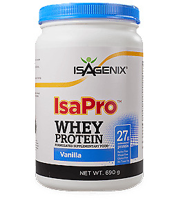 various Isagenix products for sale