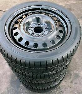NEW Bridgestone 205/55/R16 winter tires+ Steel rims