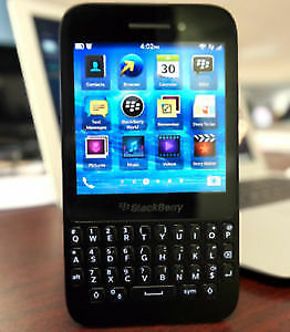 Blackberry q5 with touch screen
