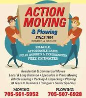 ACTION MOVERS & PLOWING