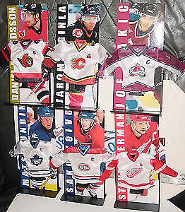 Collectable Set of NHL Jerseys From McDonalds , 90s or So