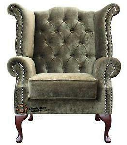 Lovely Chesterfield Green Chairs