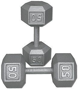 Looking for Grey Hex Dumbells 50's or 60s.