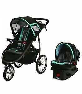 New, in box, Graco FastAction Fold Jogger Travel System