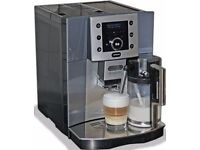 Delonghi perfecta esam 5500 coffee machine, bean to cup in perfect working condition