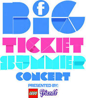 FAMILY CHANNEL BIG TICKET SUMMER CONCERT TICKETS AVAILABLE - AMA