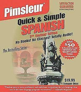 Pimsleur Quick and Simple Modern Hebrew (2006, 4 Discs, Simon and Schuster)