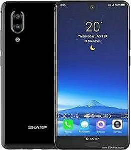 sharp s2 android smart phone/6gb ram/128gb---near new in box   un