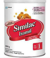 Similac Isomil Step 1, Powder, 800 g cans 15$/can