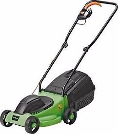 Challenge 1000 W electric lawnmower with grass box £20