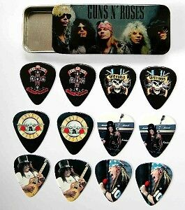 GUNS-N-ROSES-Full-Colour-Guitar-Picks-Tin-of-12