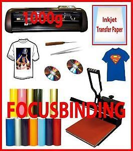 "15x15 Heat Press,13"" METAL Vinyl Cutter,Printer,CISS,Transfer"