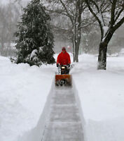 SNOW REMOVAL  North - South - East - West (Pay per visit/ Month)