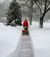residential snow clearing available