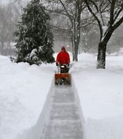 SNOW CLEARING/REMOVAL