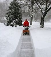 Home Maintenance, Repairs and Snow Removal