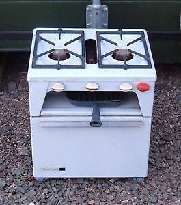 1960 S Retro Calor Gas Cooker Perfect For A Clic Caravan Or Boat Etc