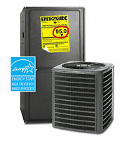 NO CREDIT CHECK Energy Star Furnace/Air Conditioner FREE Install