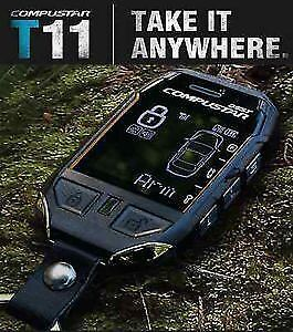 *NEW* COMPUSTAR T11 3 MILE 2 WAY PAGER REMOTE CAR STARTER