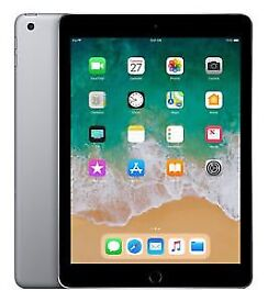 Apple iPad 6th Gen. 32GB, Wi-Fi , - Black - BRAND NEW SEALED IN BOX