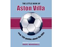 16 x Woodhall, Dave The Little Book of Aston Villa All NEW Condition Bulk Buy..