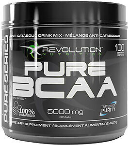 Revolution Pure BCAA 280g nutrition supplement