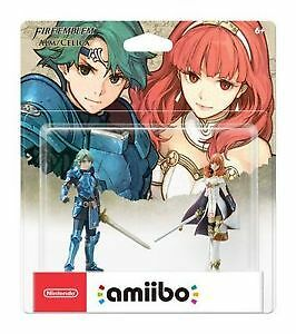 BNIB For Sale - Alm and Celica Amiibo 2 pack - Fire Emblem!