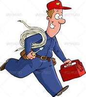 Experienced and Licensed Electrician service