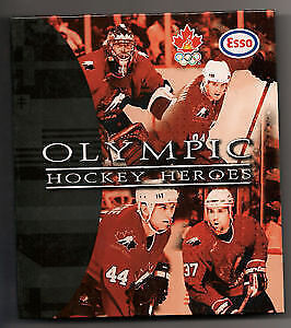 1998 Esso Nagano OLYMPIC HOCKEY HEROES - Complete 60 card set