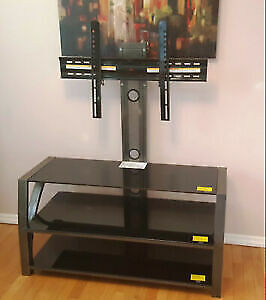 Z-Line Designs Fiore TV Stand Integrated Mount for up to 65`` TV