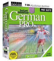 Instant Immersion German Pro - 7 CD Platinum Edition