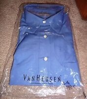 BRAND NEW VANHEUSEN LARGE COLLARED DRESS SHIRT FOR SALE!!